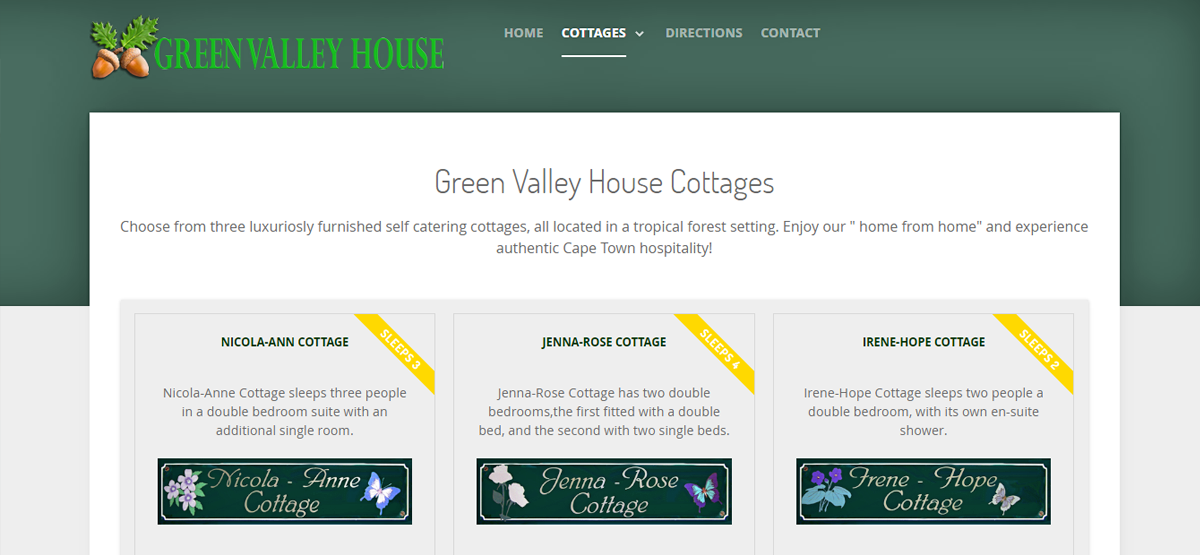 greenvalleyhouse.co.za